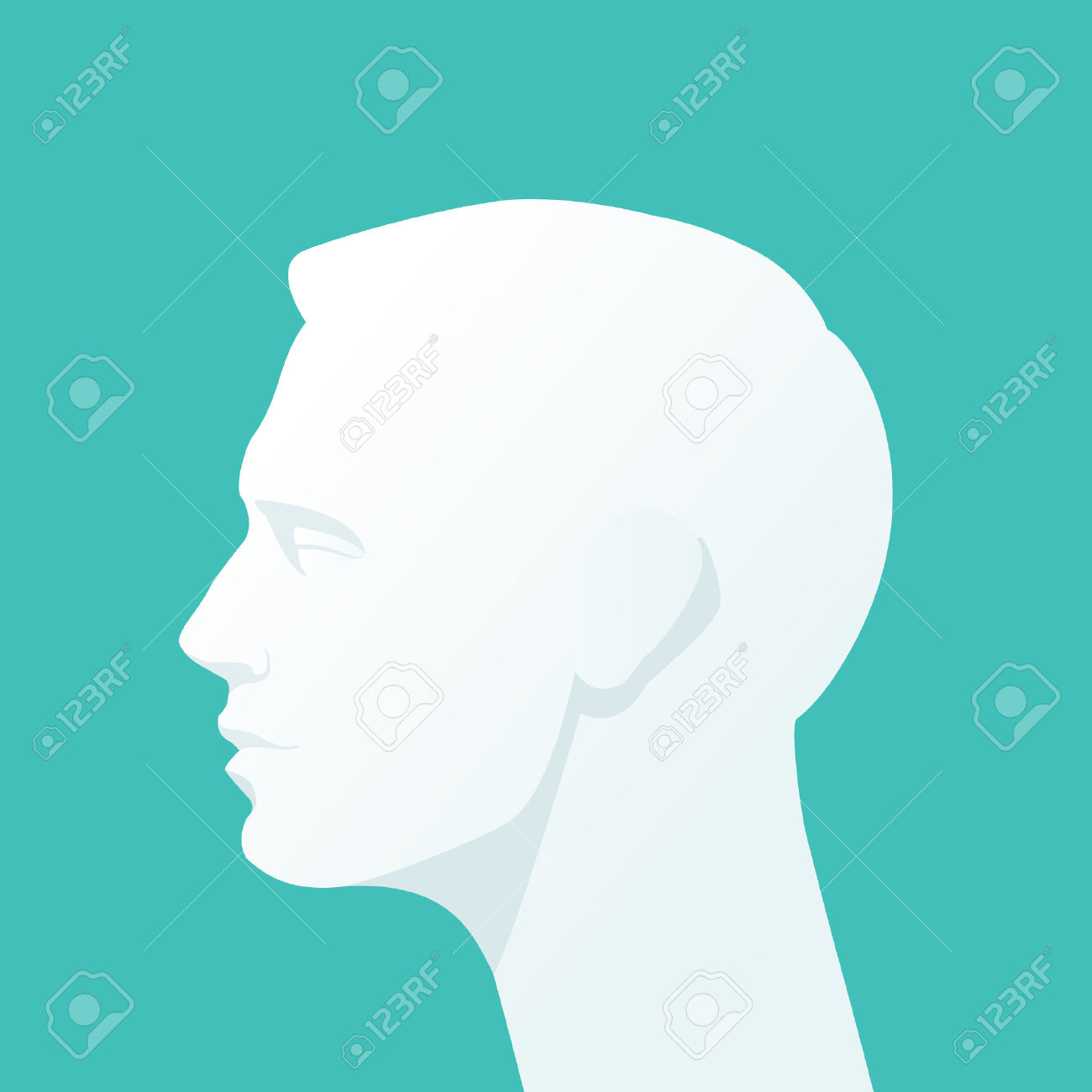 281,780 Human Head Stock Vector Illustration And Royalty Free.