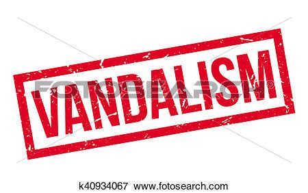 Stock Illustration of Vandalism rubber stamp k40934067.