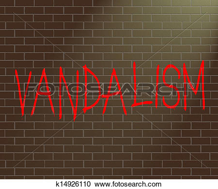 Stock Illustrations of Vandalism concept. k14926110.