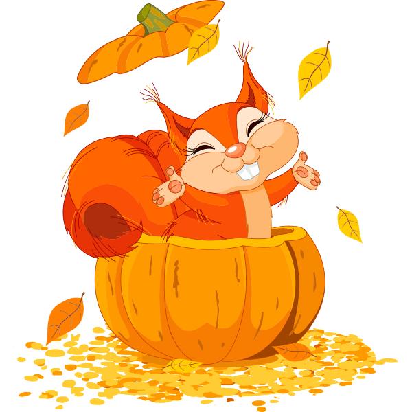 Pumpkin Squirrel.