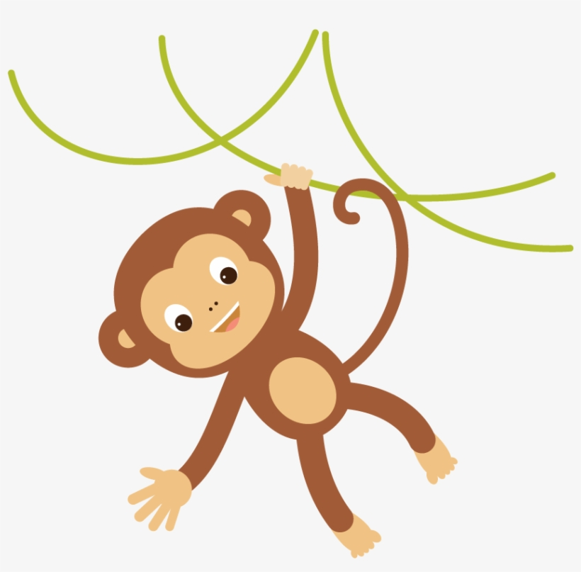 Monkey Cartoon Png Clipart Library.