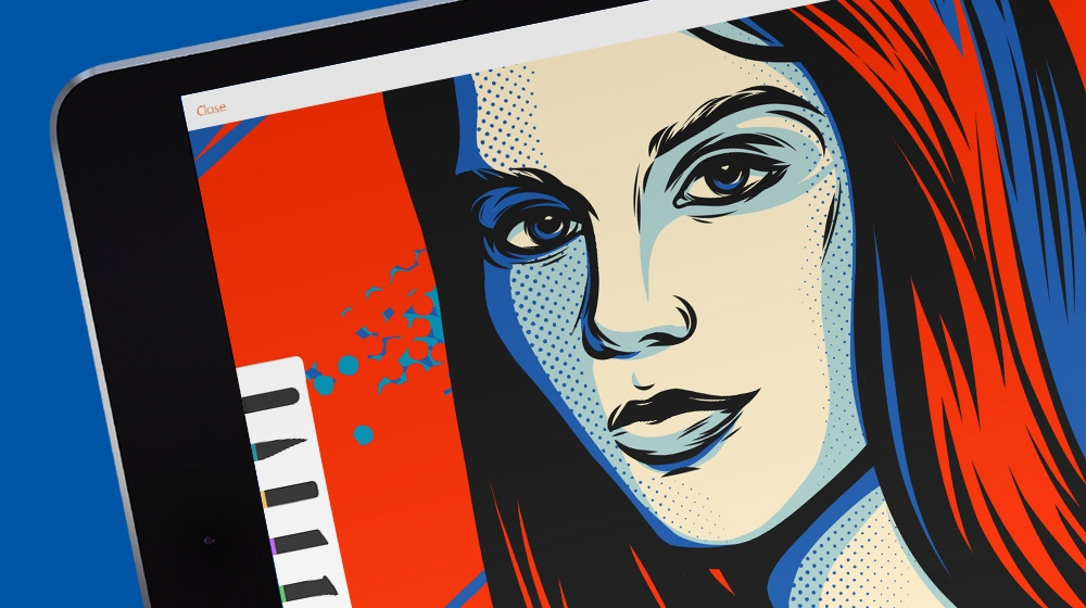 How to use Adobe Illustrator Draw to create vector art on.