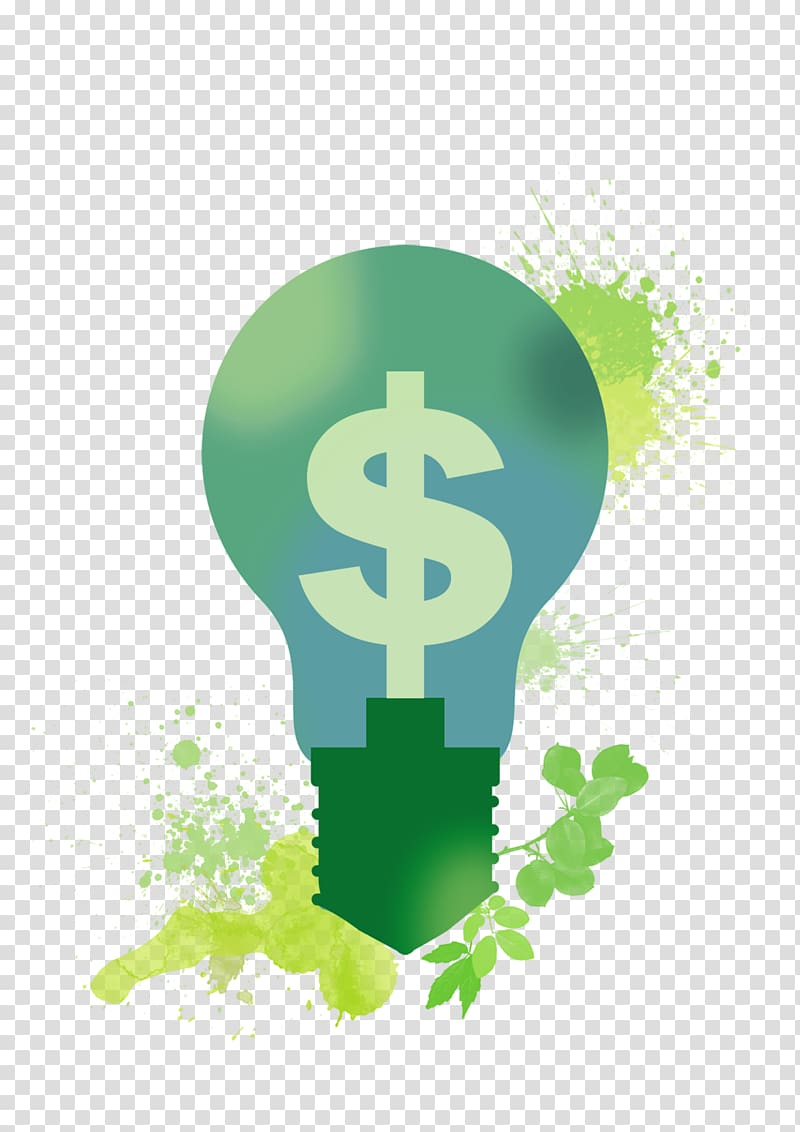 Energy saving transparent background PNG clipart.