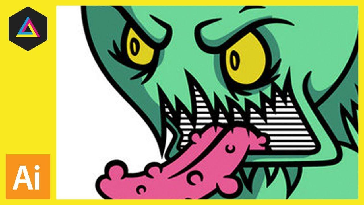 Convert a drawing into vector artwork in Adobe Illustrator.