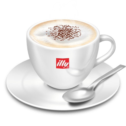 Illy Coffee transparent PNG.