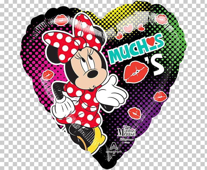 Toy Balloon Kiss Minnie Mouse Globos Ilusión PNG, Clipart.