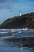 Stock Photo of North Head Lighthouse, Cape Disappointment State.