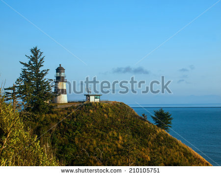 Cape Disappointment Stock Photos, Royalty.