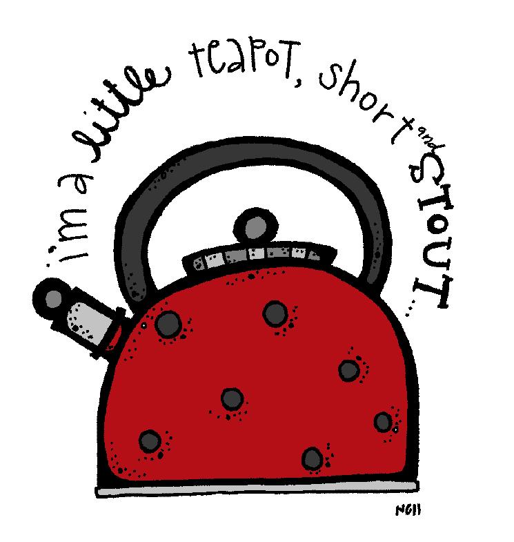Im a little teapot clipart.
