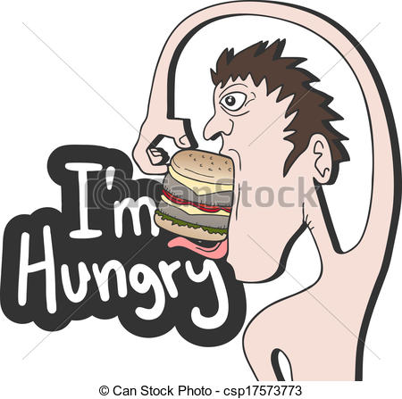 I'm Hungry Clipart.