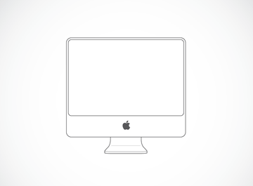 iMac Illustration Clipart Picture Free Download.