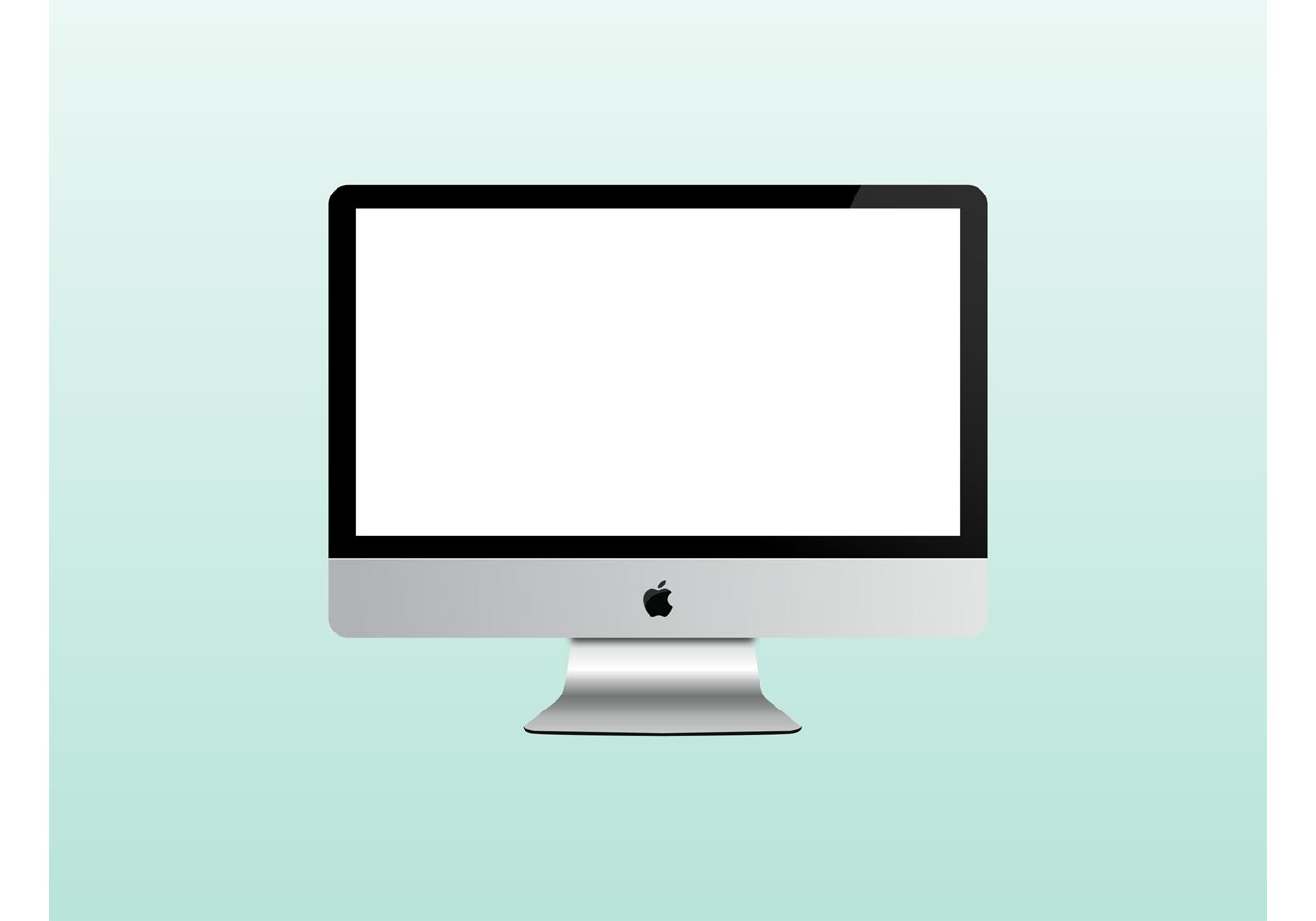 Imac Mac Apple Computer Free Vector Art.
