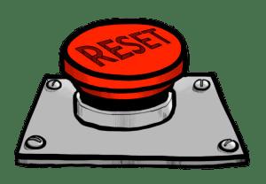 Reset Button Clipart transparent PNG.