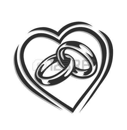 Alliance mariage clipart 5 » Clipart Station.