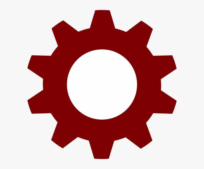 Red Gear Encode Clipart To Base64 With Regard To Gear.