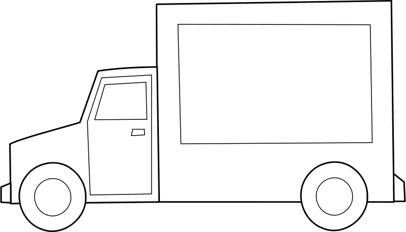 Free Clipart: Camion / truck.
