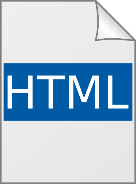 Html Icon Clip Art at Clker.com.