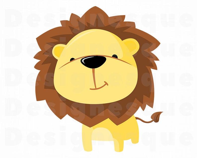 Cute Lion SVG, Lion SVG, Lion Clipart, Lion Files for Cricut, Lion Cut  Files For Silhouette, Lion Dxf, Lion Png, Lion Eps, Baby Lion SVG.
