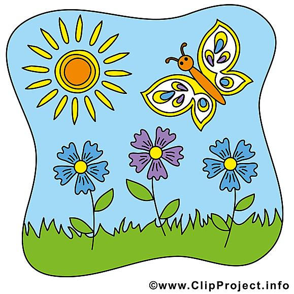 Fleurs soleil clipart gratuit.