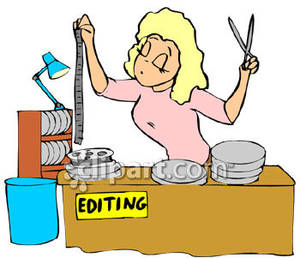Editing Program Free Clip Art.