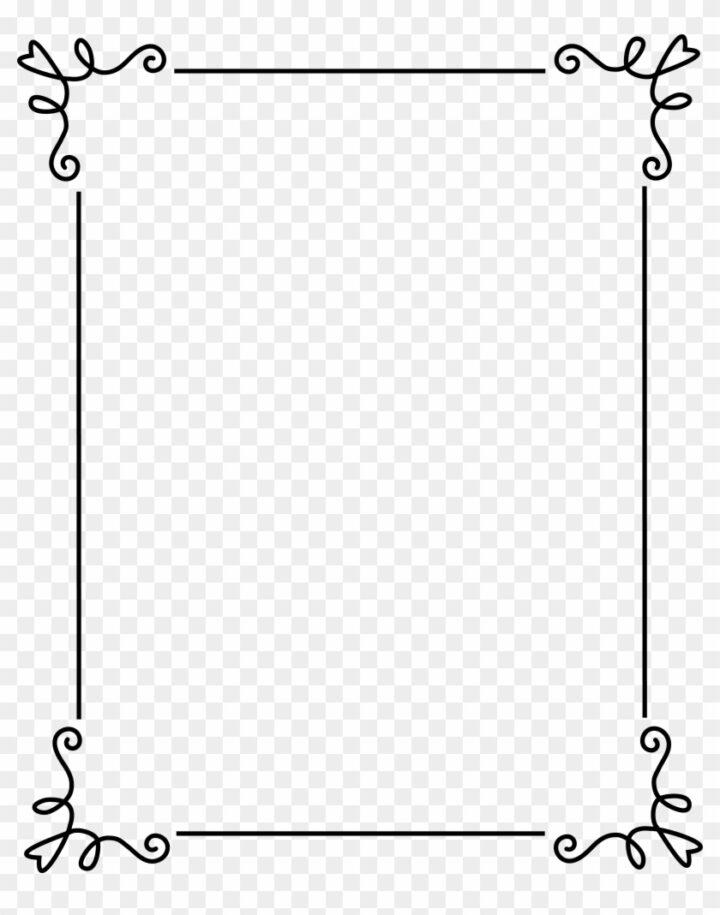 Clipart Frame Border Frames And Borders Clip Art Frame.