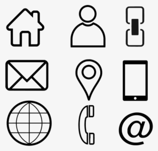 Business Card Icons PNG, Transparent Business Card Icons PNG Image.