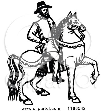 Royalty Free Horseback Illustrations by Prawny Vintage Page 1.