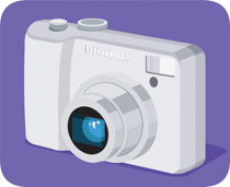 image of camera clipart #3