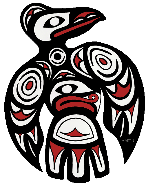 Native Americans Clip Art by Phillip Martin, Pacific Northwest.
