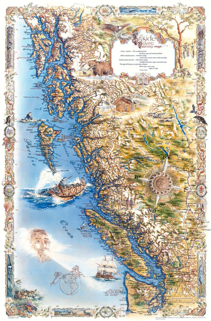 17 best ideas about Pacific Northwest Map on Pinterest.