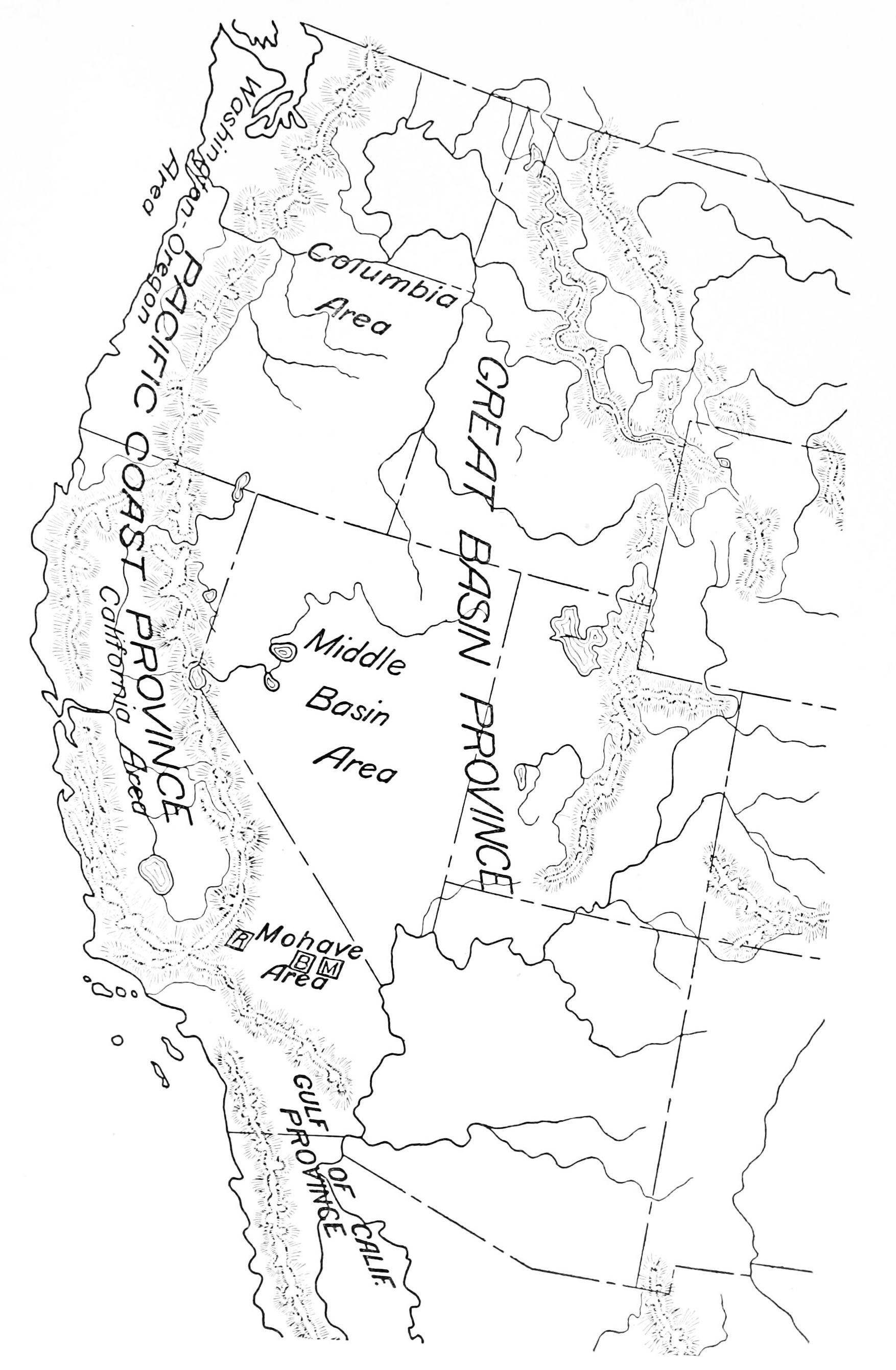 Outline Map Of Pacific Northwest With Usa Clipart : Outline Map Of.