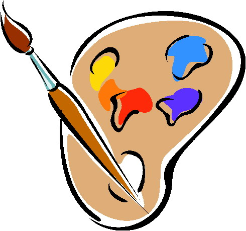 Painting clip art.