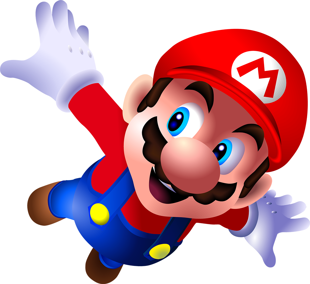 Mario PNG in High Resolution.