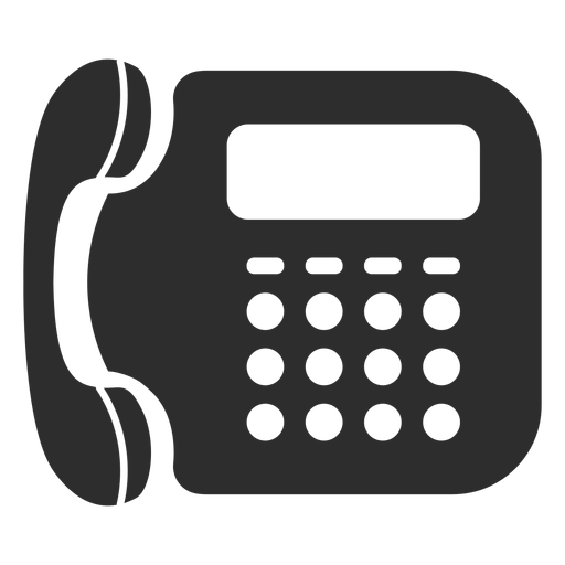 Landline telephone icon.
