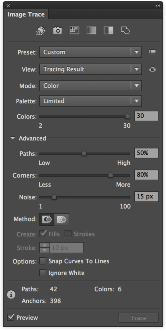 How to use Image Trace in Adobe Illustrator.