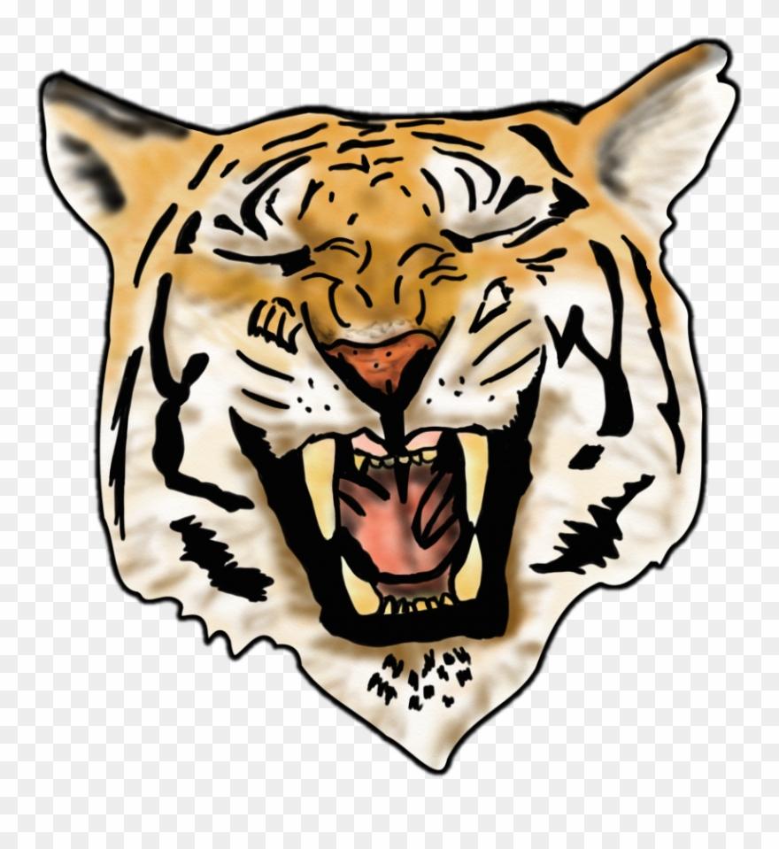 Airbrush Tiger Image.