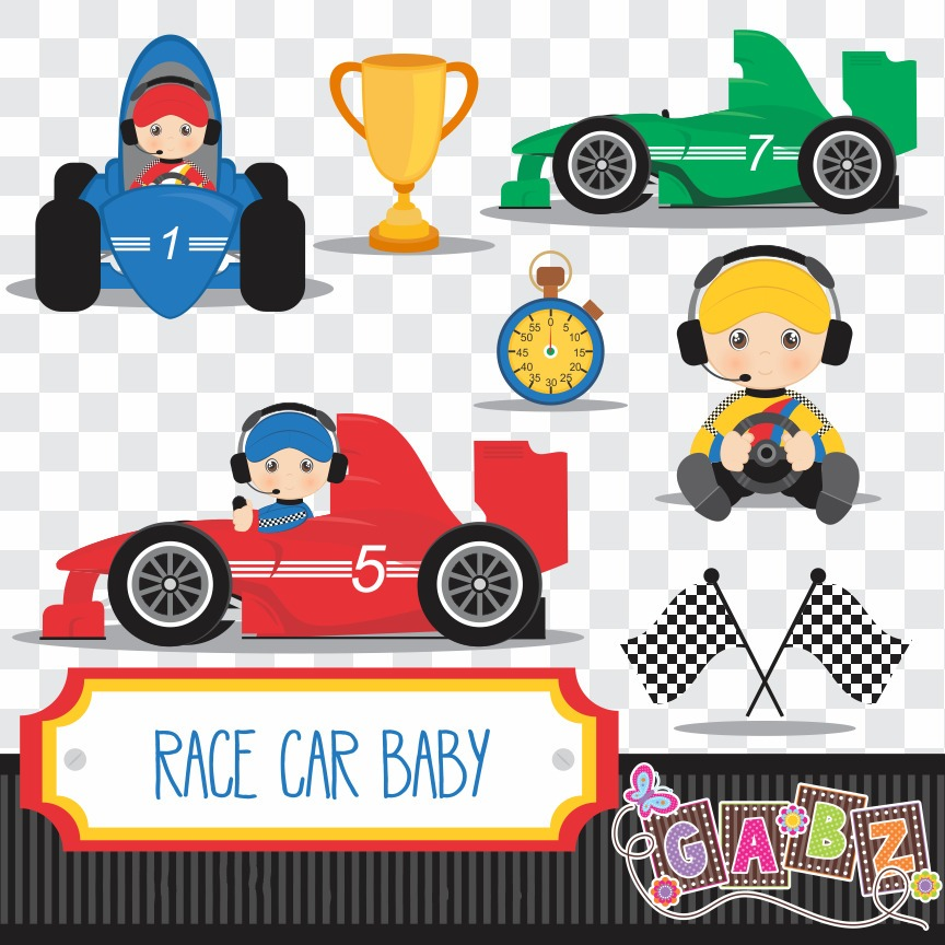Kit Imprimible Pack Imagenes Autos Carrera Clipart.