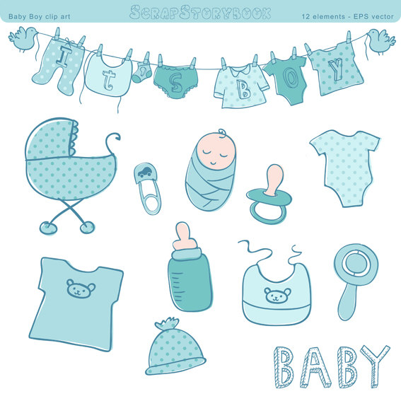 Baby Boy Items PNG Transparent Baby Boy Items.PNG Images..
