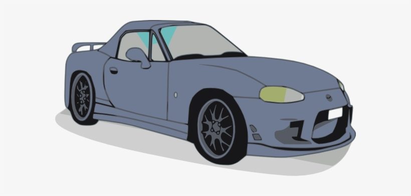 Free Vector Mazda Car Clip Art.