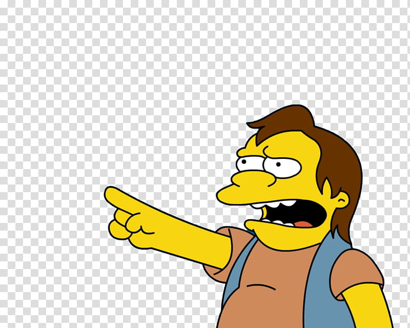 Los Simpsons, Nelson from The Simpsons transparent.