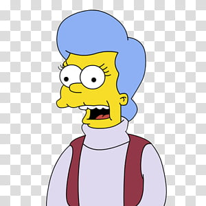 Mona Simpson PNG clipart images free download.