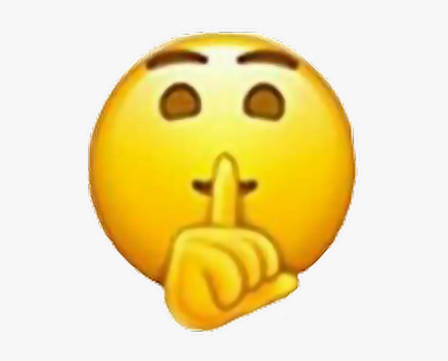 Emoji Silence Tumblr Overlays.