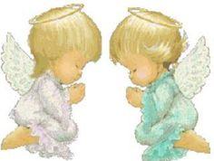 imagenes de angeles muy tiernas  ..