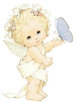 imagenes de angeles muy tiernas …..