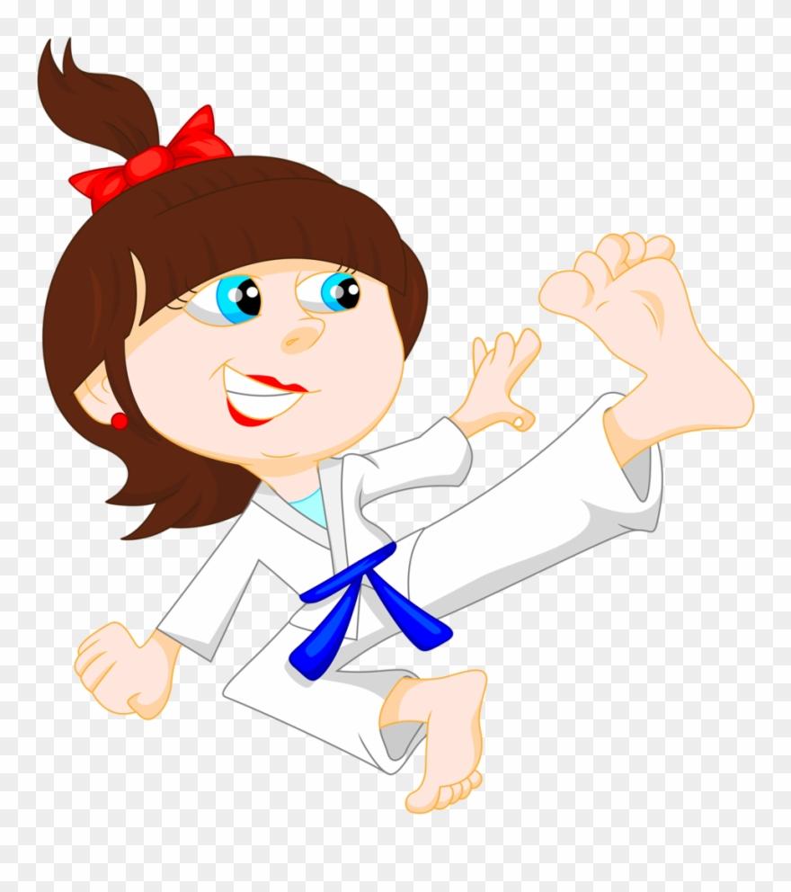 Karate Clipart Chibi.