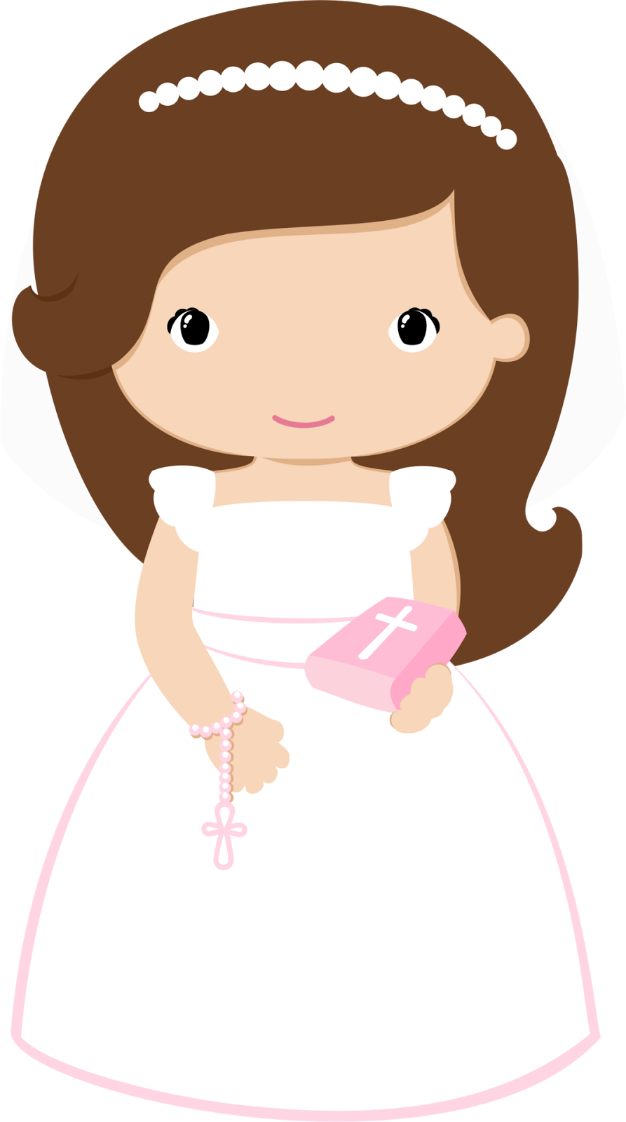 Doll clipart first communion, Doll first communion.
