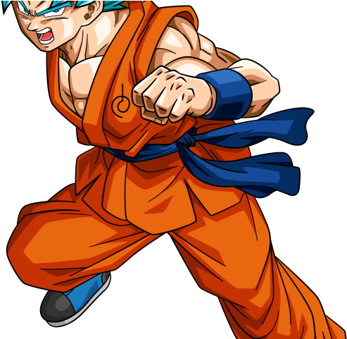 Goku Clipart Ssj God.