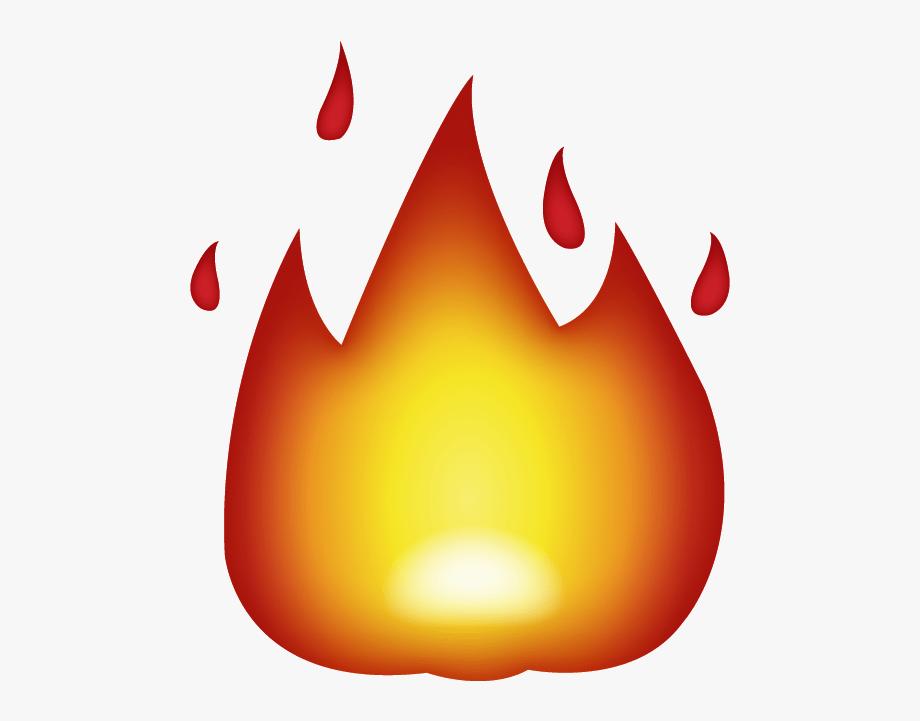 Fire Emoji Clipart.