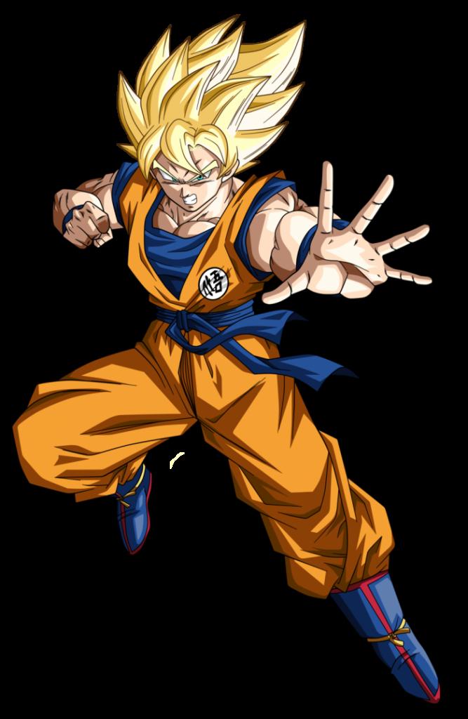 Goku De Costas Png Vector, Clipart, PSD.