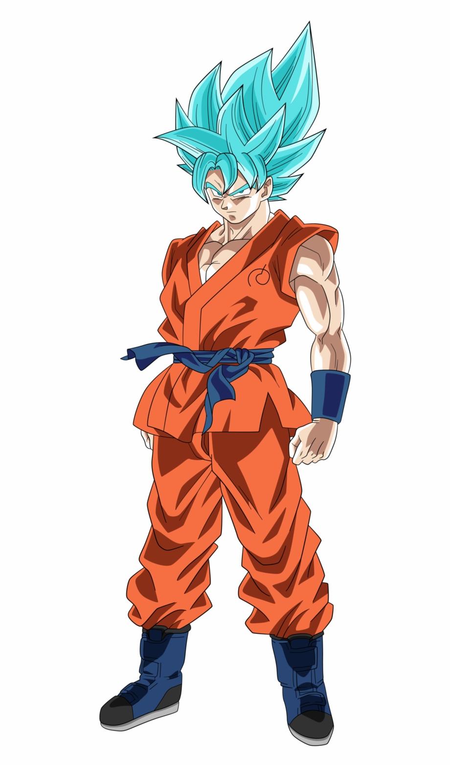 Super Saiyajin Dios Azul.
